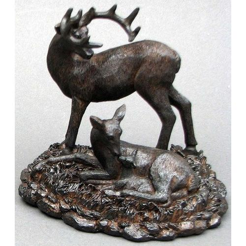 Resin Deer Family