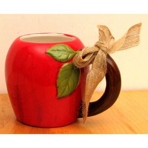 Ceramic Apple Mug