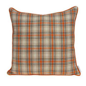 "20"" x 7"" x 20"" Multicolor Pillow Cover With Down Insert"