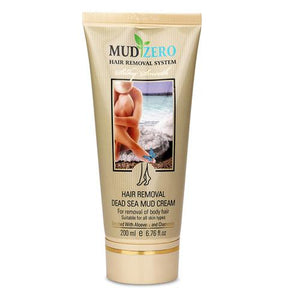 MudZero Women Dead Sea Hair Removal Cream, 200ml/6.76oz
