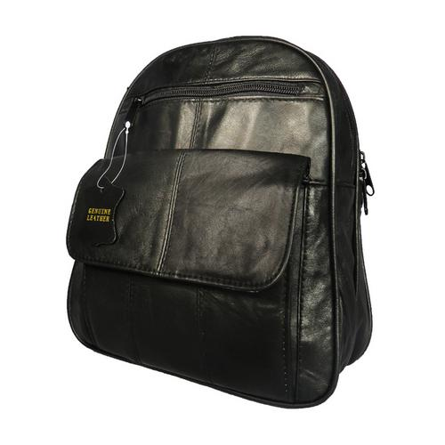 American Soft Leather Backpack