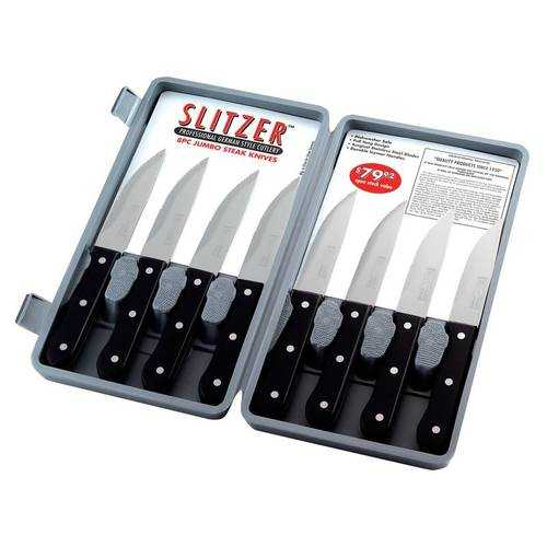 8pc Professional German-Style Jumbo Steak Knives