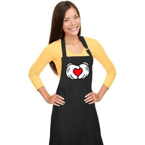 Mickey Hands Love Apron
