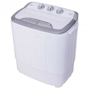 8 lbs Compact Mini Twin Tub Spinner Washing Machine