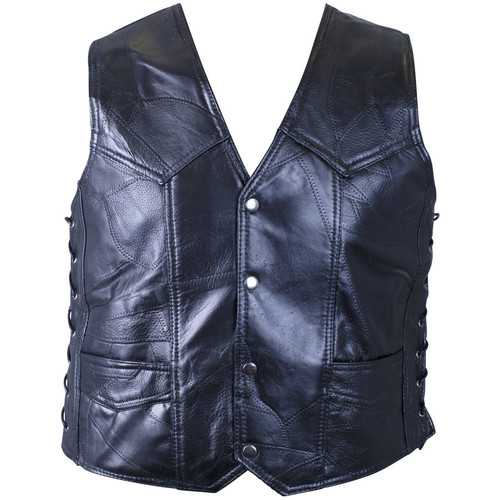 Genuine Buffalo Leather Vest