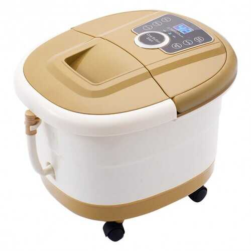 Portable Spa Bath Foot Massager with LED Display