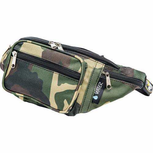 Pattern Camouflage Water-Resistant Waist Bag