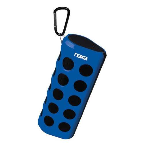 Naxa Wireless Sports Stereo Speaker with Bluetooth- Blue