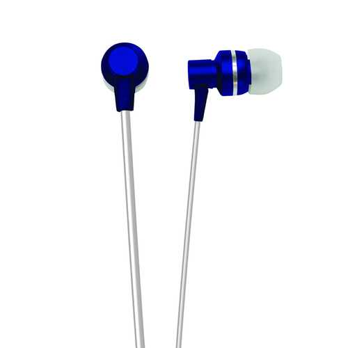 Naxa METALLIX Isolation Stereo Earphones - Blue