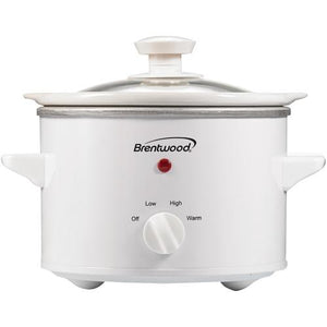 Brentwood 1.5 Quart Slow Cooker (pack of 1 Ea)
