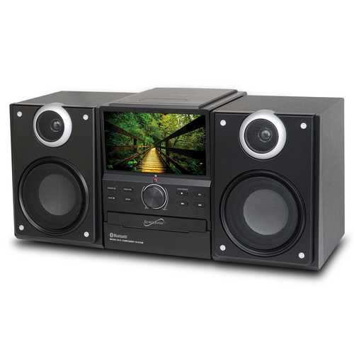 Supersonic Hi-Fi Audio Micro System with Bluetooth, DVD Player and TV Tuner