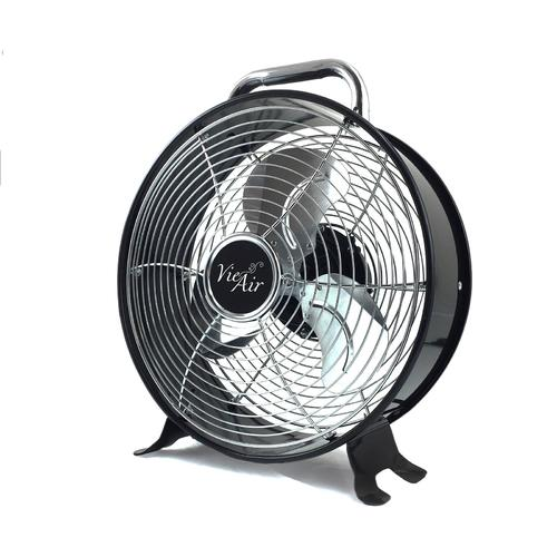 Vie Air 12 Inch High Velocity Dual Speed Retro Metal Drum Fan