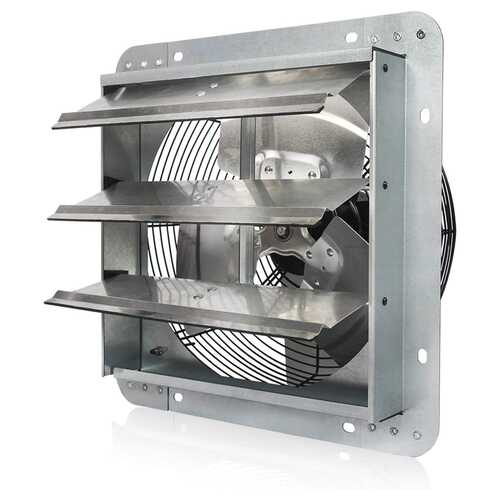 VieAir 12 Inch Exhaust Ventilation Fan with Shutters