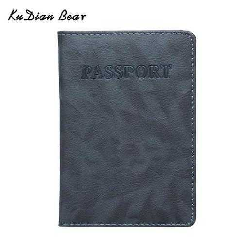 Passport Cover Waterproof The Cover of the Passport Transparent Case for Travel Passport Holder