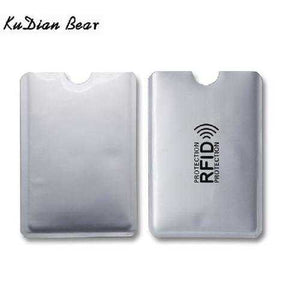 15 pcs RFID Card Holder Blocking Reader Lock Bank Card Keeper Small Safe Male Card Cover Wallet