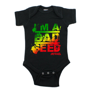 I'm A Bad Seed Onesie