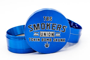 Smokers Union Grinder BLUE
