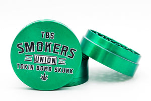 Smokers Union Grinder GREEN