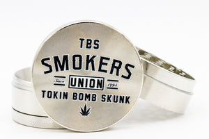 Smokers Union Grinder GREY
