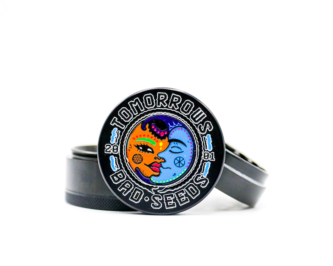 Sun And Moon Grinder BLACK