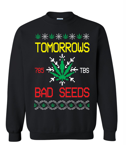 Bad Seed Holiday Sweater Black