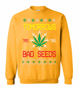Bad Seed Holiday Sweater Gold