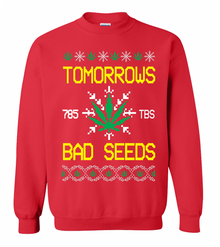 Bad Seed Holiday Sweater Red