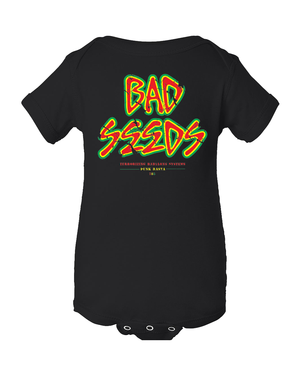 Attitude Bad Seeds Onesie