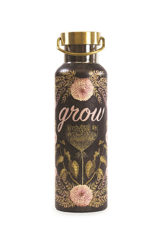 papaya art hamsa hand so good grow dig deep diasy all for love grow hello sunshine yellow rose meditation inspirational wander reusable food grade water bottle 20 ounce sale 4