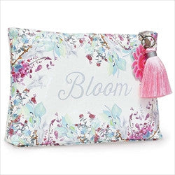 papaya art love blooms large accessory zippered pouch sale