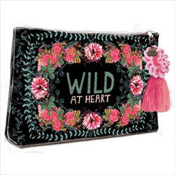 papaya art wild at heart gypsy rose large accessory pouch sale