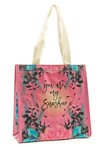 papaya arts insulated lunch bag natural pink mint rose you are my sunshine chick sticks sale