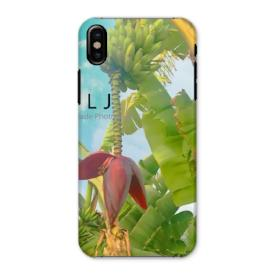 Phone Case - Banana Tree. Pacific Street. Oceanside, California - iPhone, Samsung, Galaxy Choose from Gloss or Matte - Snap or Tough Case