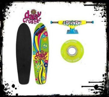 Chick Sticks Daisy Crusher  ♥ Cruiser Skate Deck or Complete Set Up