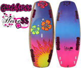 Chick Sticks 'Mini Simmons' Heiress Stand Up Paddle Board Lightweight Epoxy Tropical Sun Design
