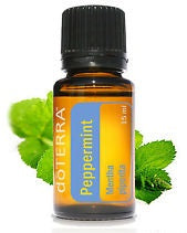 doTERRA Essential Oil - Peppermint (Respiratory Function, Digestion, Headaches, Energy, Fresh Breath)