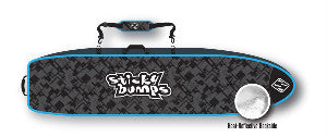 sticky bumps quad surfboard rolling travel bag holds four