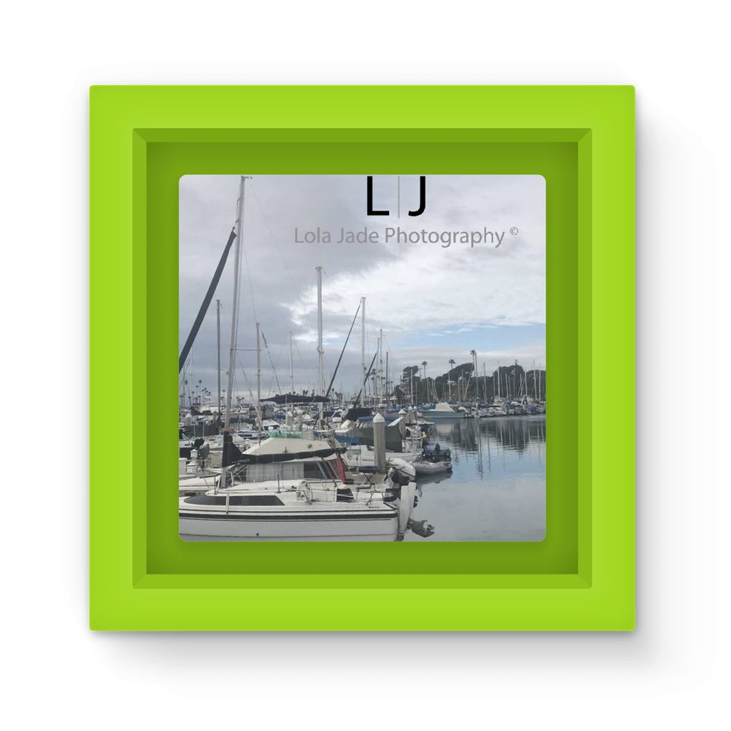 Calm Waters Oceanside Harbor Magnet Frame