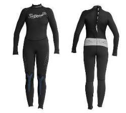 Exceed Eccentric 3/2 Full Wetsuit 2 4 6 8 10 12 14 black and silver glitzy fancy sick awesome cute cook surf swim dive fancy Tattoo Glitter Ink that Sparkles in the Sun high quality 3/2 is made with E-Stretch neoprene for maximun fit and performance.  Flexible, waterproof pressure bonded seam tape and a YKK non corrosive zipper keep the water Out.  And a Key Holder
