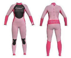 Exceed Eclectic Full 3/2 Girls Wetsuit ~ Pink with Glitter
