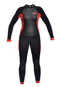 Exceed Essence Ladies 3/2 Full Wetsuit Surf Swim Dive Tattoo FlowersTattoo Glitter