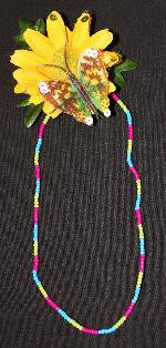Jewelry ~ Izzy's Pink, Lime & Blue Surfer Necklace SOLD OUT!