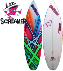 Girls Womens Surfboards Chick Sticks Little Screamer Performance Lola Jade Surf Brand