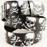 Notorious Large Skull Black Belt