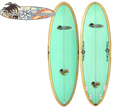Pacifica Surfboards by Chick Sticks 6.2 Quad Shortboard