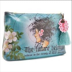 Papaya Art Large Accessory Zippered Pouch with Tassel - Click Pic for 33 Design Options