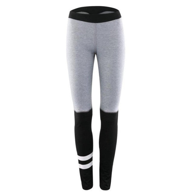 2017 Gym Suits Fitness Women Roupa ciclismo Workout Mid Waist Running Pants Fitness Elastic Leggings Yoga #EW