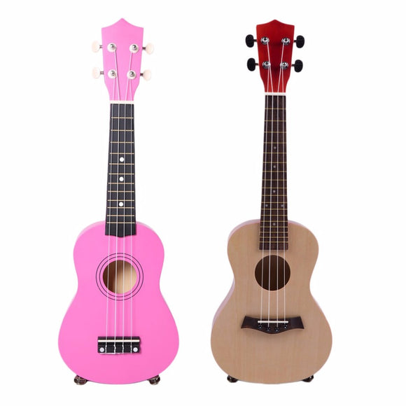 23 Inch Universal Wooden Ukulele Portable Size Hawaiian Style Rosewood Ukelele Music Instrument For Beginners Players new