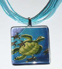 Surf Angel Necklaces - 4 Designs turtles angel surfer