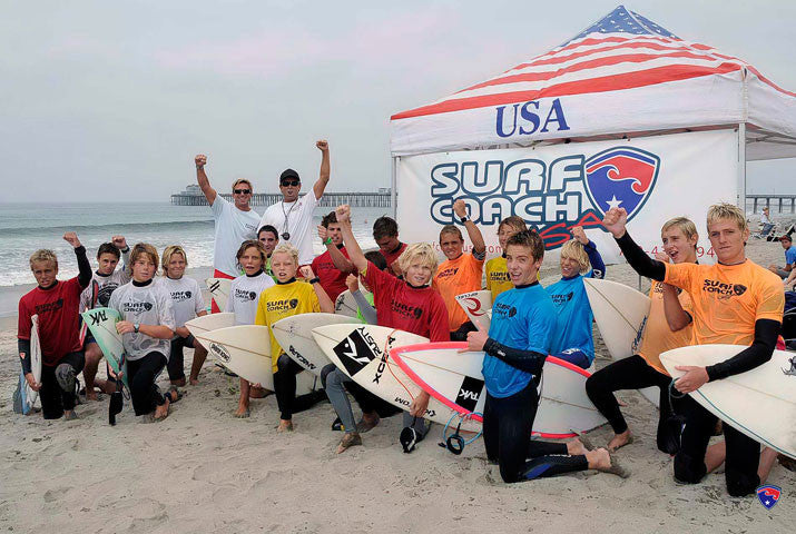 Surf Coach Sean Mattison Competition Surf Camps